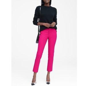 Banana Republic Sloan Hot Pink Skinny Ankle Pants